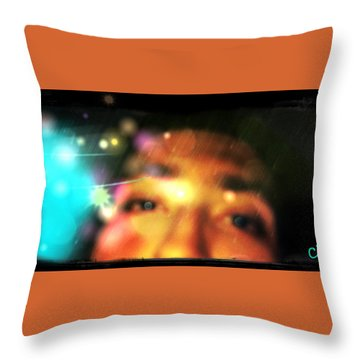 Eyes To The Soul Throw Pillow