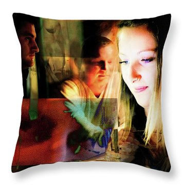 Eyes Wide Shut - Stanley Kubrick's Movie Interpretation Throw Pillow