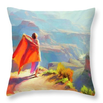 Eyrie Throw Pillow
