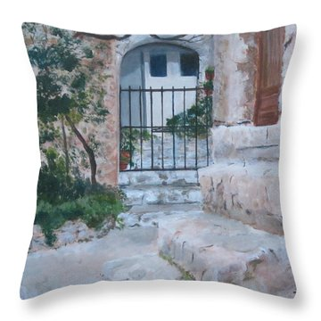 Eze Throw Pillow