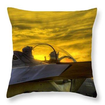 F15e Throw Pillows