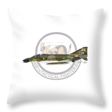 F-4d Phantom 559tfs Throw Pillow