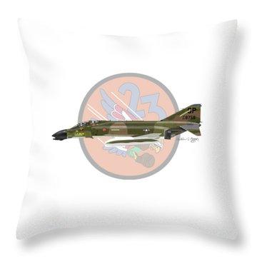 F-4d Phantom Throw Pillow