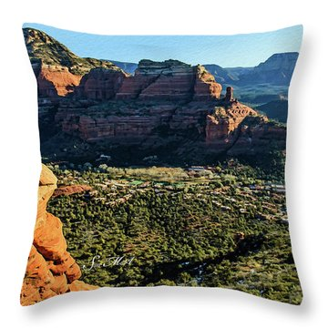 F And B Ridge 07-021 Throw Pillow by Scott McAllister