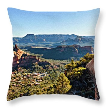 F And B Ridge 07-028 Throw Pillow by Scott McAllister
