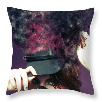 F U M E S  Throw Pillow
