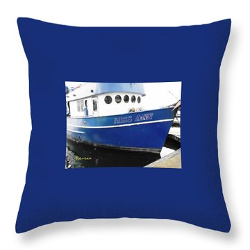 F V Miss Ann Throw Pillow