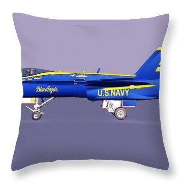 F18 Super Hornet Throw Pillow