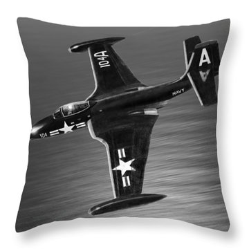 F2h Banshee Throw Pillow