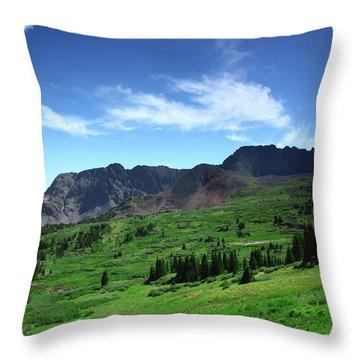 Faasummerscene108 Throw Pillow