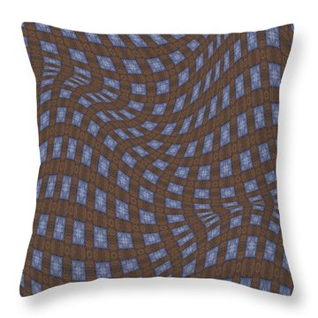 Fabric Design 17 Throw Pillow