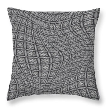 Fabric Design 19 Throw Pillow