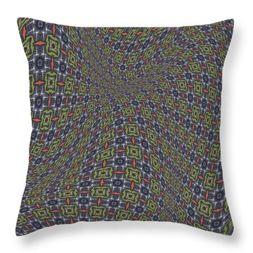 Fabric Design 20 Throw Pillow