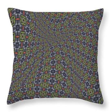 Fabric Design 20 Throw Pillow by Karen Musick