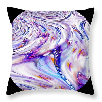 Fabric Of Reality Throw Pillow