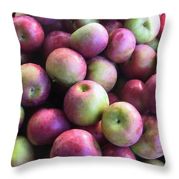 Fabulous Fall Fruits Throw Pillow