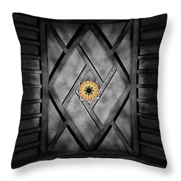 Fabulous Fox Theater Atlanta Ceiling Detail Throw Pillow