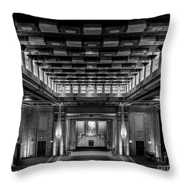 Fabulous Fox Theater Atlanta Egyptian Ballroom Throw Pillow