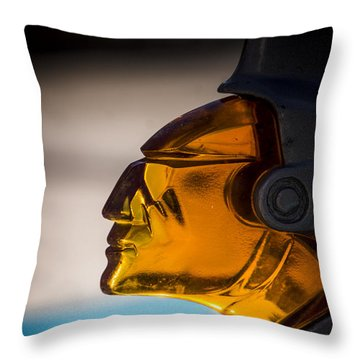 Face Forward Throw Pillow