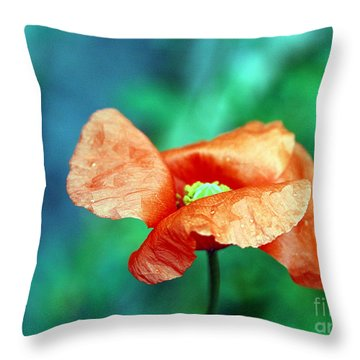 Face Of Love Throw Pillow