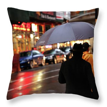 Faces And Names Nyc  Throw Pillow