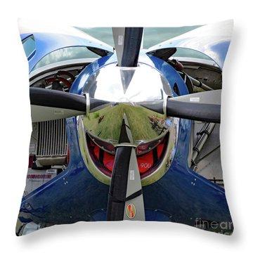 Faces Of Oshkosh 2012. #03 Throw Pillow