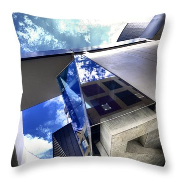 Facetted Throw Pillow