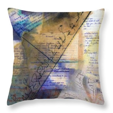 Faded Fantasies 2 Throw Pillow