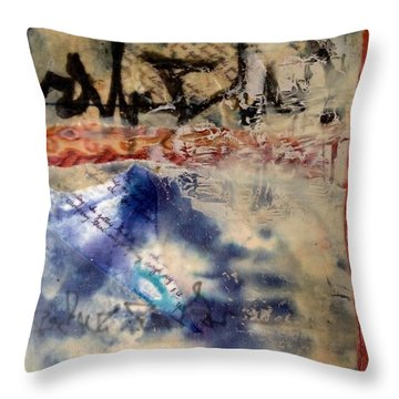 Faded Fantasies 3 Throw Pillow