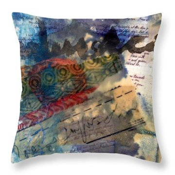 Faded Fantasies 4 Throw Pillow