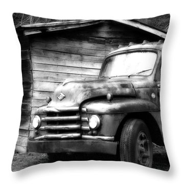 Faded Glory Throw Pillow by Dan Wells