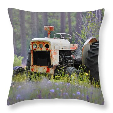 Fading Fast Throw Pillow