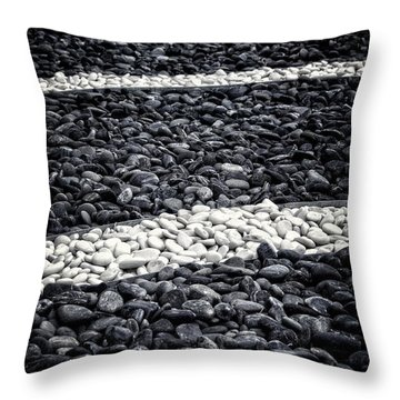 Fading In And Out Throw Pillow