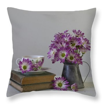 Throw Pillow featuring the photograph Fading Memories by Kim Hojnacki