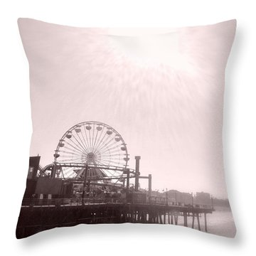 Fading Memories Throw Pillow by Nature Macabre Photography