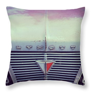 Fading Plymouth Throw Pillow
