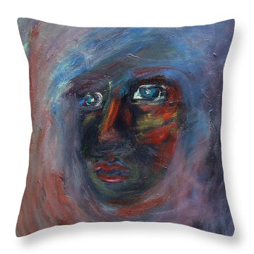 Fading Slowly Throw Pillow