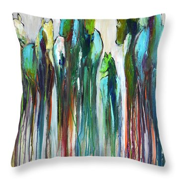 Fading Souls Throw Pillow