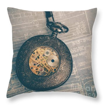 Throw Pillow featuring the photograph Fading Time by Edward Fielding