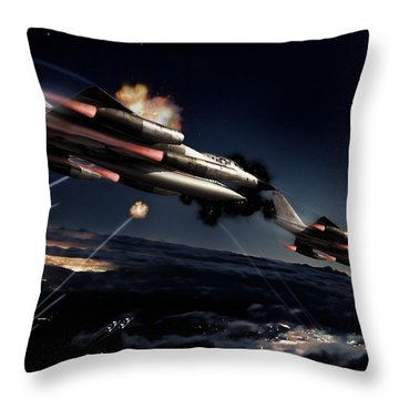 Fail Safe Throw Pillow by Peter Chilelli