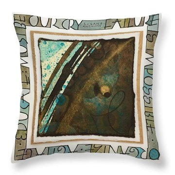 Failure Is Impossible Throw Pillow