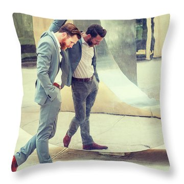 Failure Throw Pillow