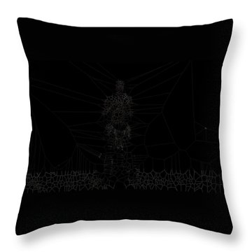 Faint Throw Pillow