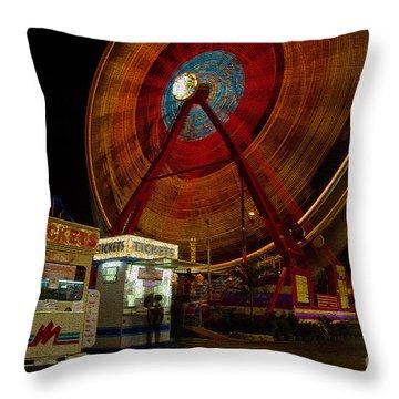 Fair Dreams Throw Pillow by David Lee Thompson