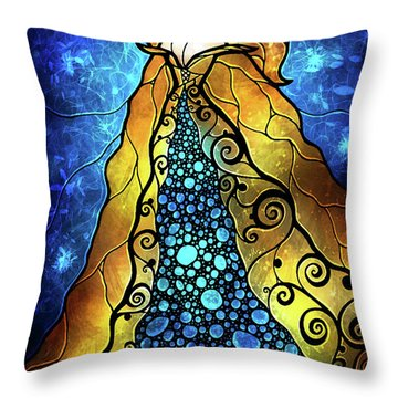 Fair Ophelia Throw Pillow