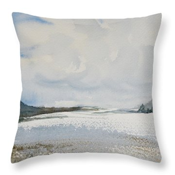 Fair Weather Or Foul? Throw Pillow