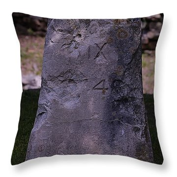 Fairfax Stone Throw Pillow