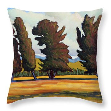 Fairfield Tree Row Throw Pillow