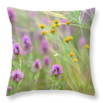 Fairing Of Spring Throw Pillow