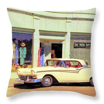 Fairlane 500 1957 Throw Pillow by John Schneider